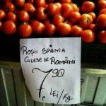 Producatori agricoli: 90% dintre produsele din piete sunt vandute de intermediari