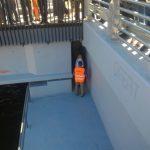 Boc i-a pus pe constructorii unui pod să stea sub el, pentru a verifica rezistența