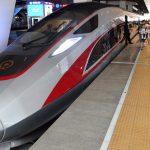 Un tren de mare viteză, capabil să atingă o viteză de 400 de km/oră, a circulat în premieră, luni, în China