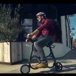 Cea mai mică bicicletă electrică pliabilă din lume-video