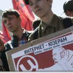 Manifestație la Moscova împotriva întăririi restricțiilor asupra Internetului