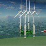 Prima fermă plutitoare din lume cu turbine eoliene uriașe, inaugurată în Scoția