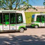 Minibusuri fără șofer la Tallinn pentru președinția estoniană a UE, pe viitor nu va mai fi nevoie de permise de conducere auto