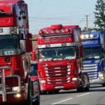Șoferii români și bulgari, nemulțumiți de protecționismul francez, 50 euro/zi nu-i totuna cu 80 euro/zi