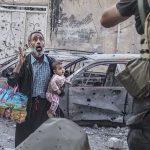 Senzaționalul bătăliei de la Mossul-Irak surprins in ultimele luni din 2017 de Laurent Van der Stockt, recompensat cu trofeul Visa d'or News 2017 pentru fotojurnalism