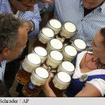 Festivalul berii a început la Munchen, cu 600.000 de participanți în primul weekend, fără incidente teroriste si cu 11 boi integral consumați
