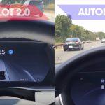 Proprietar de Tesla documentează diferențele dintre Autopilot 2.0 și 1.0