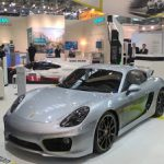 Porsche Cayman e-volution de la 0 la 100 în 3,3 secunde