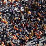 """Puigdemont, la închisoare!"""": La Madrid, mii de oameni au manifestat împotriva secesiunii catalane"""