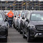 Fiecare a treia mașină germană merge către China