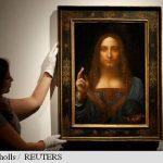 Un tablou de Leonardo da Vinci, vândut la licitație cu prețul record de 450,3 milioane de dolari
