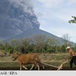 Zeci de zboruri anulate pe insula turistică Bali, după erupția vulcanului Agung