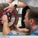 """NASA a reinventat roata folosind un material care își """"amintește"""" forma originală"""
