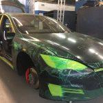 Armormax bilndează un Tesla Model S