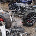 Vandalii au distrus automobile Tesla Model S și X la Amsterdam