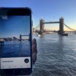 O aplicație AR care recunoaște obiective turistice celebre