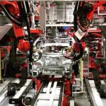 Tesla obține o linie de producție semi-automată pentru baterii