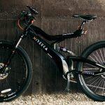 O bicicletă electrică sexy de la Nireeka cu cadru de carbon