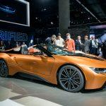 BMW i8 2019: baterie și autonomie mai mare