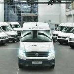 VW eCrafter își va face debutul în Marea Britanie