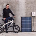 Bicicletă electrică de tip BMX poate funcționa cu energie solară
