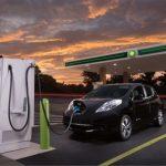 BP va adăuga benzinăriilor puncte de încărcare electrică